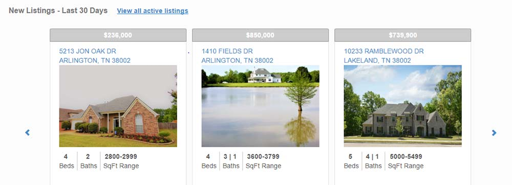 Arlington 38002 Market Report Example